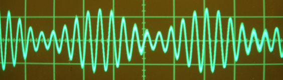 amplitude modulation scope image